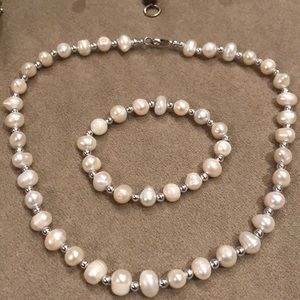 Jewelry - Set of fresh water pearl necklace and bracelet